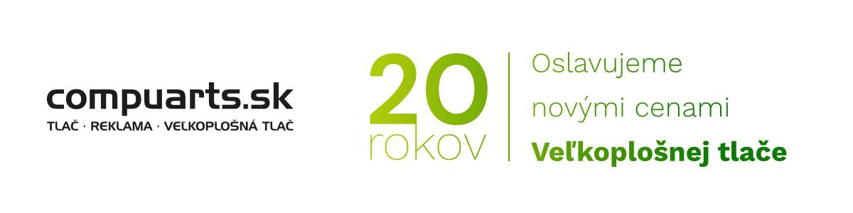 20 rokov banner